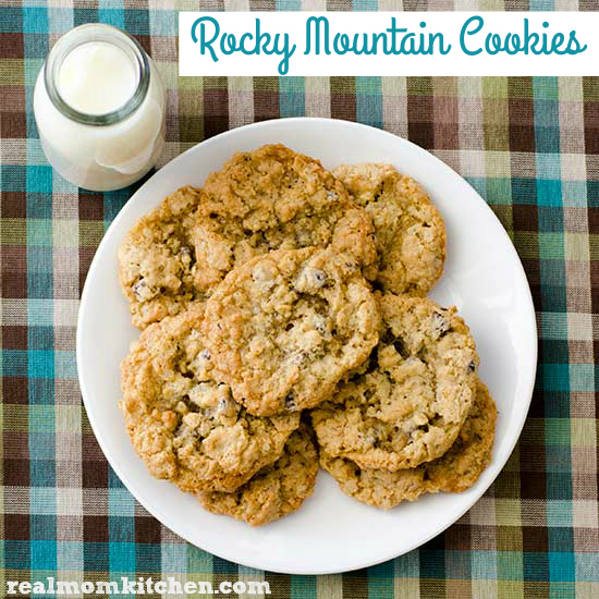 Rocky Mountain Cookies | realmomkitchen.com