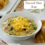 Broccoli Ham Soup | realmomkitchen.com