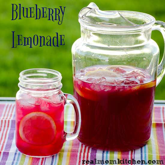 Blueberry Lemonade   realmomkitchen.com