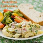 Tortellini Carbonara | realmomkitchen.com