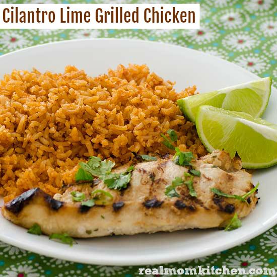 Cilantro And Lime Chicken Breasts Recipe — Dishmaps