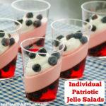 Individual Patriotic Jello Salads | realmomkitchen.com