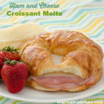 Ham and Cheese Croissant Melts | realmomkitchen.com