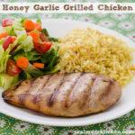 Honey Garlic Grilled Chicken | realmomkitchen.com