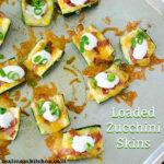 Loaded Zucchini Skins | realmomkitchen.com