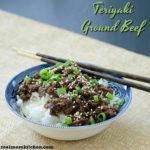 Teriyaki Ground Beef | realmomkitchen.com
