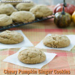 Chewy Pumpkin Ginger Cookies | realmomkitchen.com
