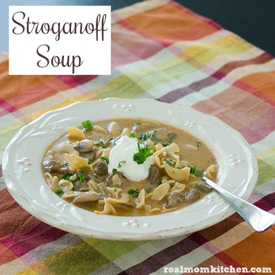 Stroganoff Soup | realmomkitchen.com