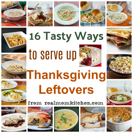 16 Thanksgiving Leftovers Recipes | realmomkitchen.com