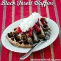 Black Forest Waffles | realmomkitchen.com