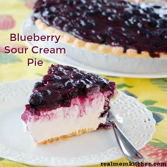 Blueberry Sour Cream Pie And Turkey Giveaway