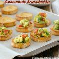 Guacamole Bruschetta | realmomkitchen.com
