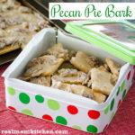 Pecan Pie Bark | realmomkitchen.com
