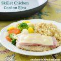 Skillet Chicken Cordon Bleu | realmomkitchen.com
