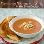 Creamy Tomato Soup | realmomkitchen.com
