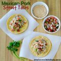 Mexican Pork Street Tacos | realmomkitchen.com