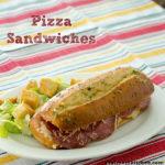 Pizza Sandwiches | realmomkitchen.com