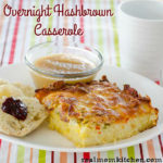 Overnight Hashbrown Casserole   realmomkitchen.com