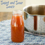 Sweet and Sour Sauce | realmomkitchen.com