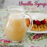Vanilla Syrup   realmomkitchen.com