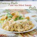 Creamy Pesto Sundried Tomato Pasta | realmomkitchen.com