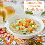 Instant Pot Chicken Noodle Soup | realmomkitchen.com