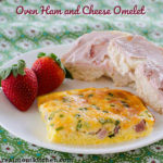Oven Ham and Cheese Omelet | realmomkitchen.com