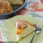 Peach Coffee Cake | realmomkitchen.com