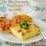 The Best Overnight Hashbrown Casserole | realmomkitchen.com
