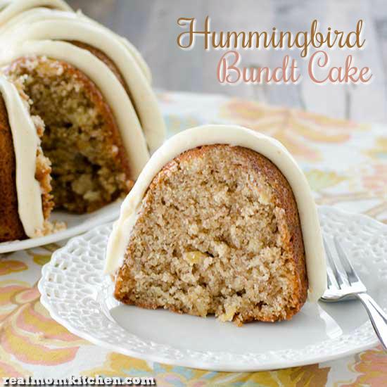 Hummingbird Bundt Cake   realmomkitchen.com