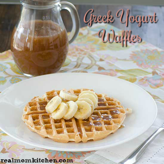 Greek Yogurt Waffles | realmomkitchen.com