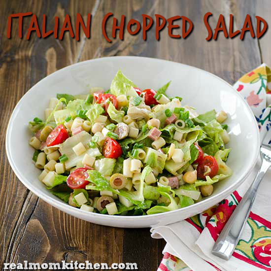 Italian Chopped Salad | realmomkitchen.com