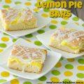 Lemon Pie Bars | realmomkitchen.com