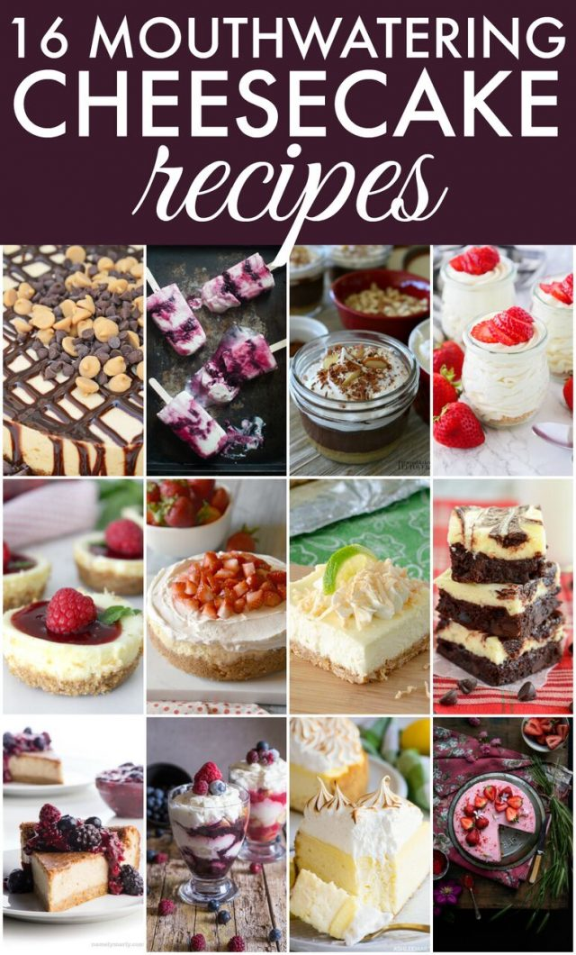 Cheesecake Recipes   realmomkitchen.com