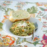Easy Cheesy Pesto Pasta | realmomkitchen.com