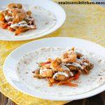 Sheet Pan Shrimp Fajitas   realmomkitchen.com