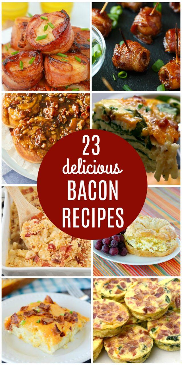 23 Delicious Bacon Recipes | realmomkitchen.com