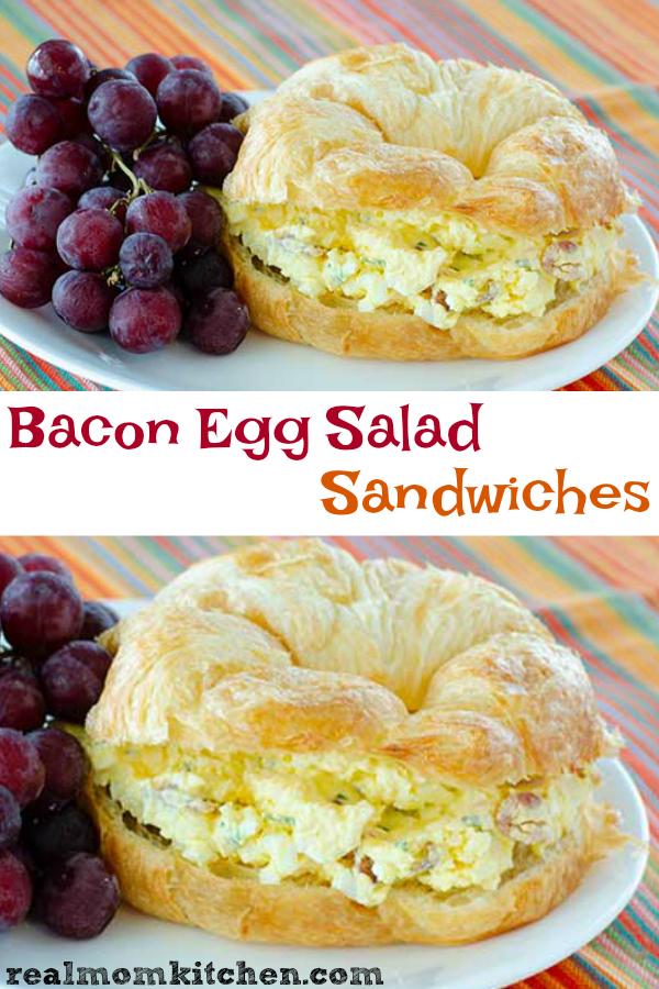 Egg Salad Sandwiches | realmomkitchen.com